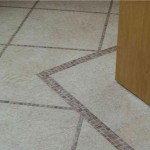 Karndean Knight sandstone with mossaic detail