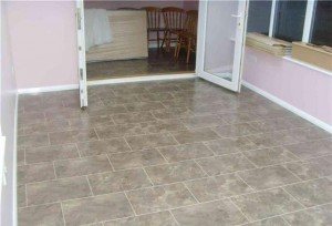 New Floor to kitchen and conservatory