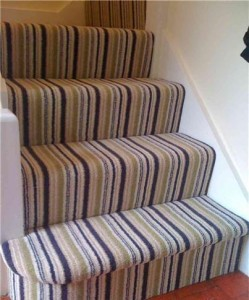 Stairs carpet
